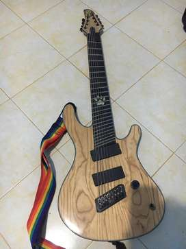 8 string multy scale