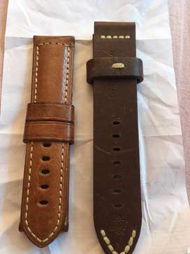 Watch high quality leather belts