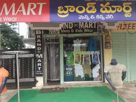 Ready made Garments  shop for sale
