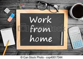 Offline work part time writing job