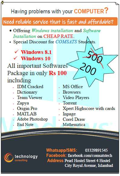 Windows and Software Installation Services 0