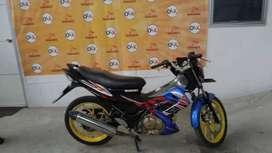 New Satria Fu Tahun 2010 DR3466BT (Raharja Motor Mataram)