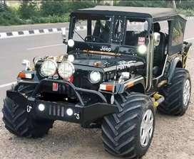 Full midfield jeep ready