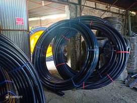 HDPE PIPES FOR UNDERGROUND OPTICAL FIBER CABLES, WATER & GAS SUPPLY