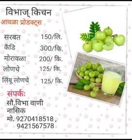 Homemade natural Amla products