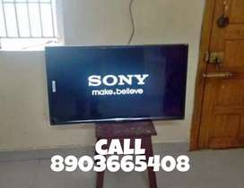 "SONY 43""inch ANDROID 4K SMART#.LED**TV 2 Years replace warranty Jkom"