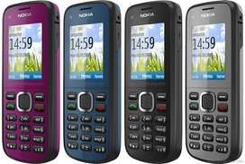 Nokia C1-02 New Box Pack || Home Delivery All Over Pakistan