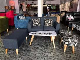 Restok sofa minimalis set tamu
