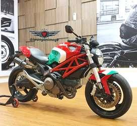 Ducati monster 795 fp plat KT balikpapan, odo 1900 km, knalpot custom