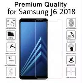 Ultra Tempered Glass ASLI KACA samsung j6 2018 Dan Type Lain