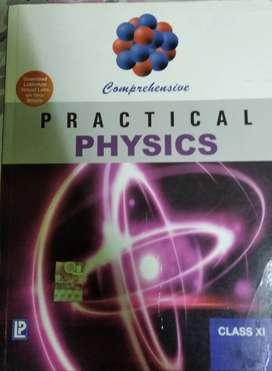 Practical Physics Textbook- Class XI