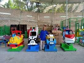 mainan koin odong kiddie ride - Sirine dc odong  kereta mini 4