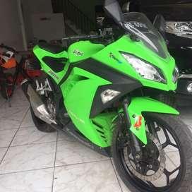 Kawasaki ninja 250 fi Hijau