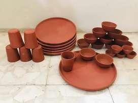 Earthenware utensils for cooking