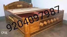 Brand new designer 5/6.5 huge space stylish bed with side design