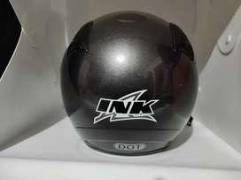 Helm INK original warna grey mulusss
