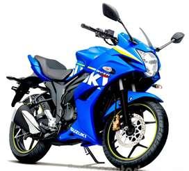 Suzuki Gixxer SF at Rs.55,000/-