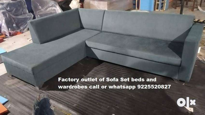 Bed ,Wardrobe, SOFA SET Ricliner chair.Factory made