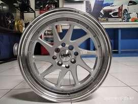 Paketan Velg Honda Jazz Ring 17 Lebar 75-85 Dan Ban 205-45R17 Accelera