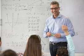 Maths teacher for 11th & 12th