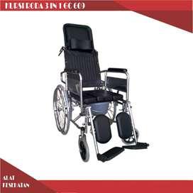 jual kursi roda selonjor 3 in 1 harga murah bisa cod