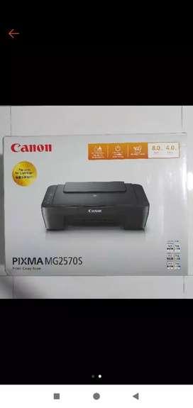 PRINTER BEKAS RASA BARU CANON Pixma MG2570S
