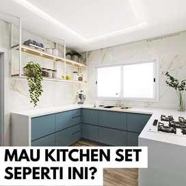 KITCHEN SET MINIMALIS MULTIPLEX HPL