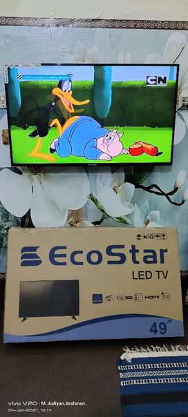 """EcoStar LED 49"""" in V Good Condition."""
