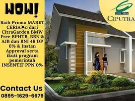 Rumah Mewah Gaya Modern Murah Di CitraGarden BMW Segera survey Lokasi