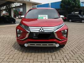 Mitsubishi XPANDER 1.5 AT ULTIMATE merah thn 2018 KM LOW