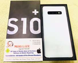 Samsung S10+ White 8/128GB Under Warranty Till Mar-2020 in Clean Devic