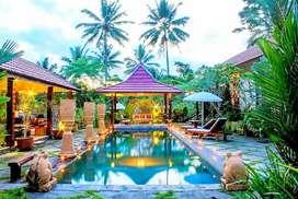 Villa Joglo Jalan Kaliurang Sejuk Tanah Luas Nyaman