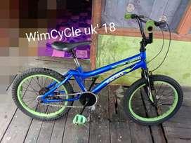 Jual sepeda BMX uk 18 (WimCyCle)