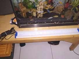 Led aquarium merk YANG hw60 11 watt