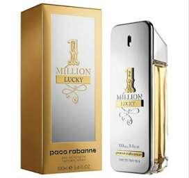 Non box 1million lucky by paco rabbane edt 100ml