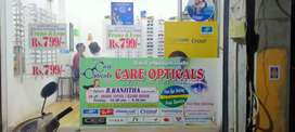 Care opticals Gkm branch