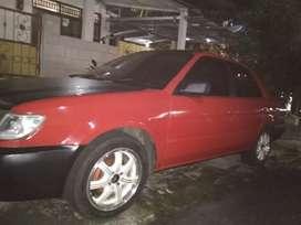 Jual Santai apa adanya Mobil Soluna tahun 2001 ex Taxi