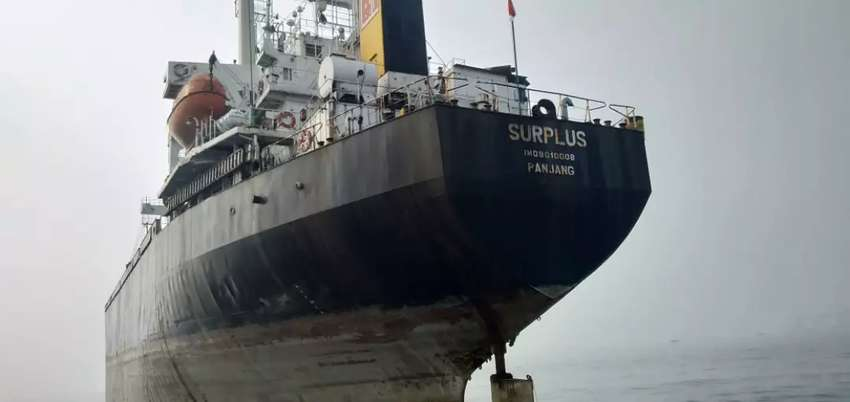 Jual Kpal Cargo DWT 7.055  lastdoking harga murah hub Miss Palu via wa