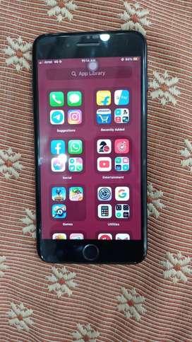 iPhone 7plus (128gb rom) pure black