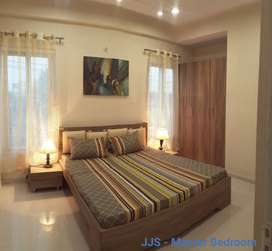 2 bhk flats semi furnished ready to move