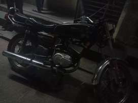 Hi I am selling  my mint condition RX 135 5 speed