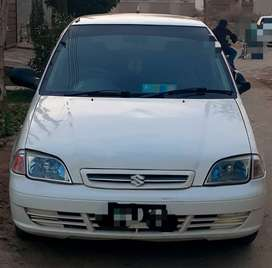 Suzuki cultus 2003 model multan registered white colour.