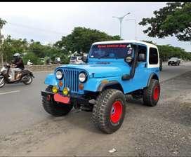 Jeep CJ7 diesel 4x4 aktif th 1984 orisinil mulus terawat pjk hidup