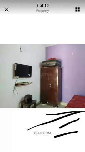 1 rk fullyfurnished newly built which is at 3rd floor