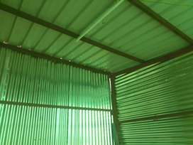 Lovebirds Tarus roof shed 20×30ft steel