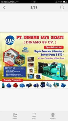 Jasa Perbaikan Dinamo industri