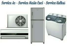 Jasa service AC dan mesin cuci kota batam