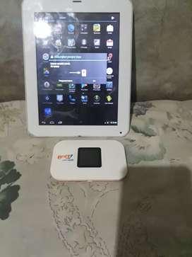Jual 1 paket tablet+mifi,maaf tidak satuan