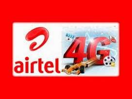 Airtel 4G process CCE/ KYC/ Verification job