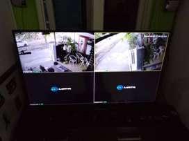 Ahli Pemasangan CCTV paket promo 2Mpx DVR turbo HD power suplay